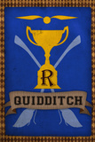 Quidditch Champions House Trophy Blue Posters