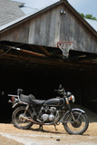 Vintage Motorcycle 2 Photo Art Print Poster Posters
