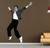 Elvis Arms in Air Wall Decal