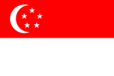 Singapore National Flag Poster Print Posters