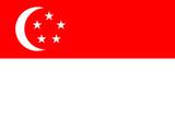 Singapore National Flag Poster Print Prints