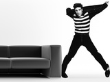 Elvis Rockin' Wall Decal