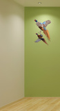 Pheasants Wall Decal