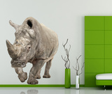 White Rhinoceros Wall Decal