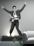 Elvis in Motion Wall Decal