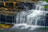 Cataract Falls State Park , Indiana, USA Photographic Print by Anna Miller