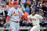 NLCS - St Louis Cardinals v San Francisco Giants - Game Three Photographic Print by Harry How