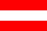 Austria National Flag Poster Print Poster