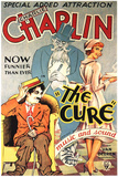 The Cure Movie Charlie Chaplin Poster Print Print