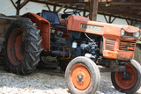 Vintage Kubota L225 Tractor Photo Art Print Poster Posters