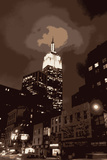 New York City Empire State Building Artistic Art Print Poster Posters