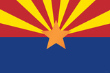 Arizona State Flag Poster Print Posters