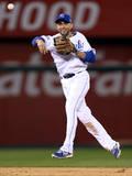 ALCS - Baltimore Orioles v Kansas City Royals - Game Three Photographic Print by Ed Zurga