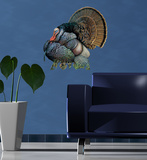 Mature Wild Turkey Wall Decal