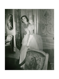 Debutante Cheseborough Hall Regular Photographic Print by Horst P. Horst