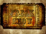 Freak Show Ticket 6 Print