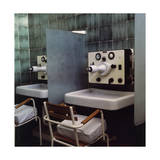 The Inhalation Rooms at the Hotel Regina Isabella at Lacco Ameno in Ischia Regular Photographic Print by Horst P. Horst