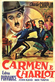 Burlesque on Carmen Movie Charlie Chaplin Poster Print Prints