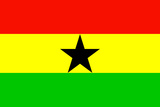 Ghana National Flag Poster Print Posters