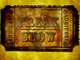 Freak Show Ticket 3 Prints