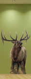 Big Rack Elk Wall Decal