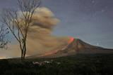 Indonesia Volcano Photographic Print by Binsar Bakkara