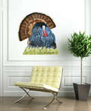 Wild Turkey Wall Decal