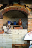 Pottery kiln in historic Billie Creek Village, Indiana, USA Photographic Print by Anna Miller