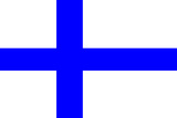 Finland National Flag Poster Print Prints