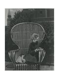 Leslie Ruth Howard Regular Photographic Print by Horst P. Horst
