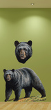 Big Black Bear Wall Decal