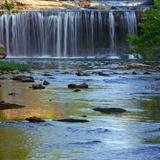 Cataract Falls State Park, Indiana, USA Reprodukcja zdjęcia autor Anna Miller