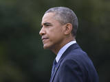 Obama Fotografisk tryk af Carolyn Kaster
