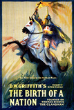 The Birth of a Nation Movie DW Griffith Poster Print Prints