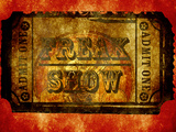 Freak Show Ticket 4 Print