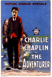 The Adventurer Movie Charlie Chaplin Edna Purviance Poster Print Posters