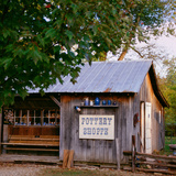 Pottery shop, Indiana, USA Photographic Print by Anna Miller