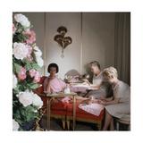Miss Gloria Vanderbilt Regular Photographic Print by Horst P. Horst