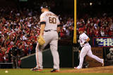 NLCS - San Francisco Giants v St Louis Cardinals - Game Two Photographic Print by Jamie Squire