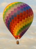 Laos, Vang Vieng. Hot Air Balloon Photographic Print by Matt Freedman