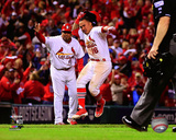 Kolten Wong Walk-Off Home Run Game 2 of the 2014 National League Championship Series Photo