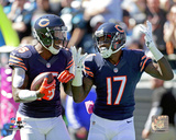 Brandon Marshall & Alshon Jeffery 2014 Action Photo
