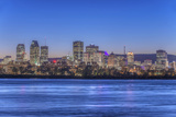 Canada, Quebec, Montreal, Skyline and St. Lawrence River Photographic Print by Rob Tilley