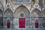Facade of Notre Dame De Bayeux Church, Bayeux, Normandy, France Photographic Print by Brian Jannsen