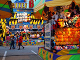 Fair games and prizes, Indiana State Fair, Indianapolis, Indiana, Photographic Print by Anna Miller