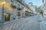 Canada, Quebec, Quebec City, Old Town Street Photographic Print by Rob Tilley