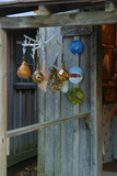 Gourd birdhouses in craft shop, Indiana, USA Photographic Print by Anna Miller
