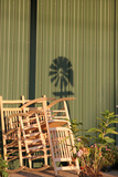 Country chairs, Indiana State Fair, Indianapolis, Indiana, Photographic Print by Anna Miller