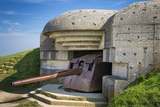 German 150Mm Gun at the Longues-Sur-Mer Battery, Normandy, France Photographic Print by Brian Jannsen