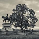 USA, Pennsylvania, Gettysburg, Monument to John Fulton Reynolds Photographic Print by Walter Bibikow